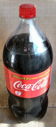 2-liter Coca-Cola bottle